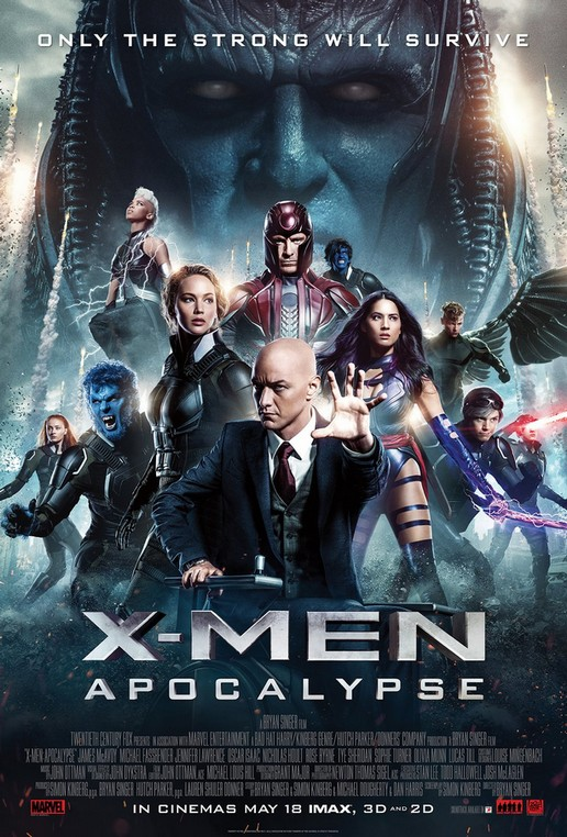 Люди Икс: Апокалипсис / X-Men: Apocalypse (2016) BDRip 1080p HEVC | iTunes
