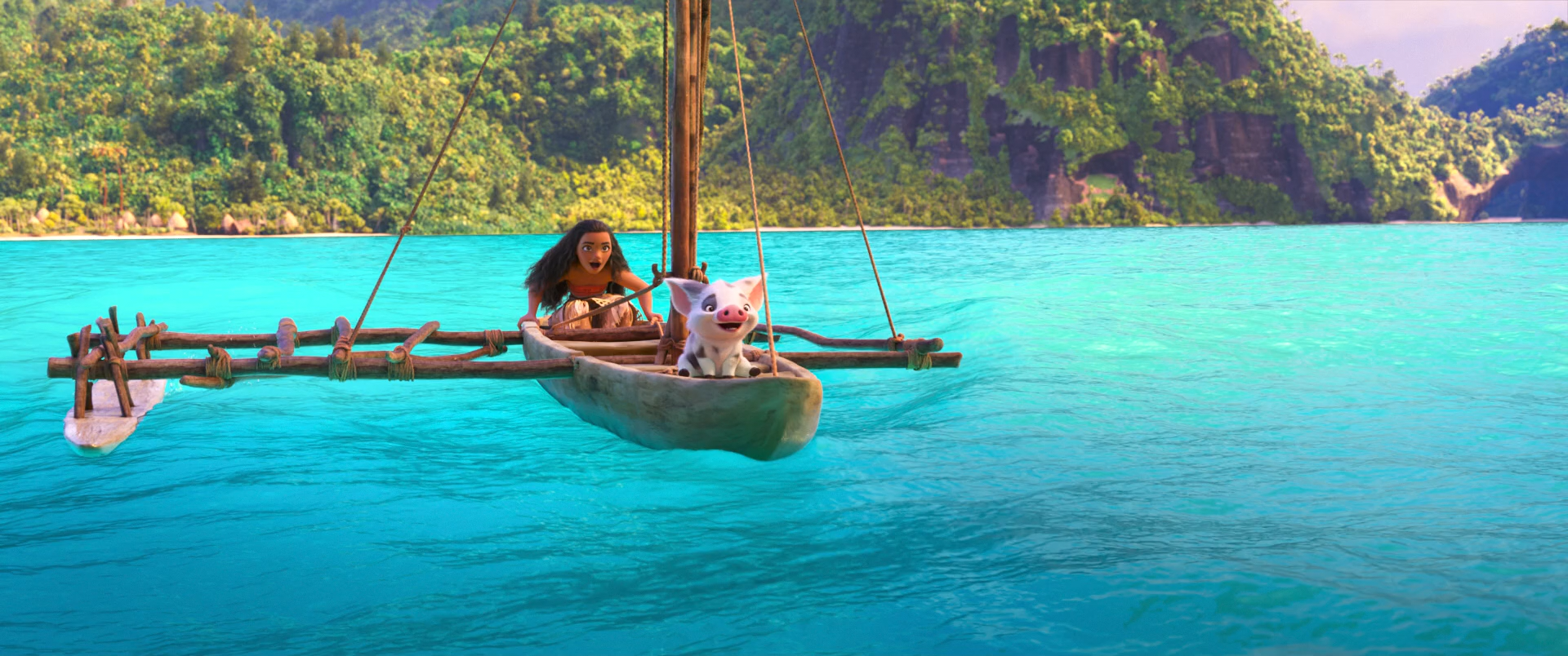 Моана / Moana (2016) BDRip 1080p | Лицензия
