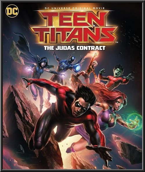 Юные Титаны: Контракт Иуды / Teen Titans: The Judas Contract (2017) BDRip-AVC от ImperiaFilm | L