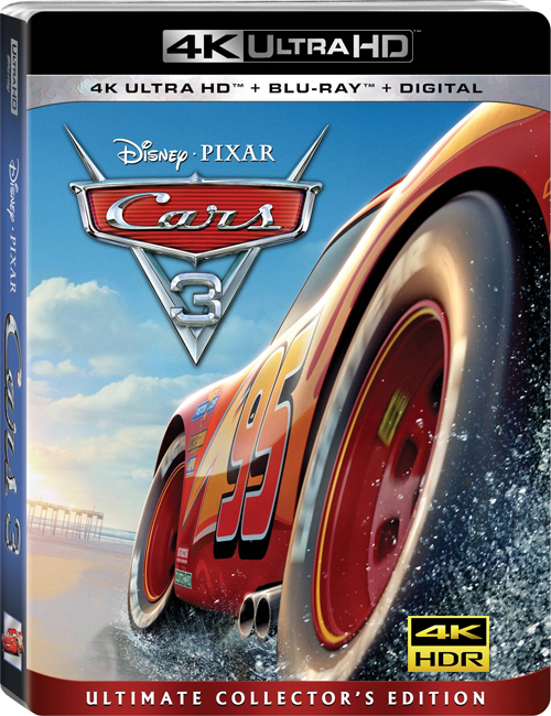 Тачки 3 / Cars 3 (2017) UHD BDRemux 2160p от ExKinoRay | 4K | HDR | Лицензия
