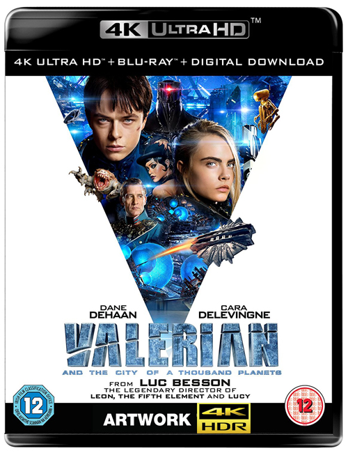 Валериан и город тысячи планет / Valerian and the City of a Thousand Planets (2017) BDRemux 2160p от ExKinoRay | 4K | HDR | D, A | Лицензия