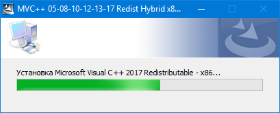 Microsoft Visual C++ 2005-2008-2010-2012-2013-2019 Redistributable Package Hybrid [20.05.2020] (2020) PC