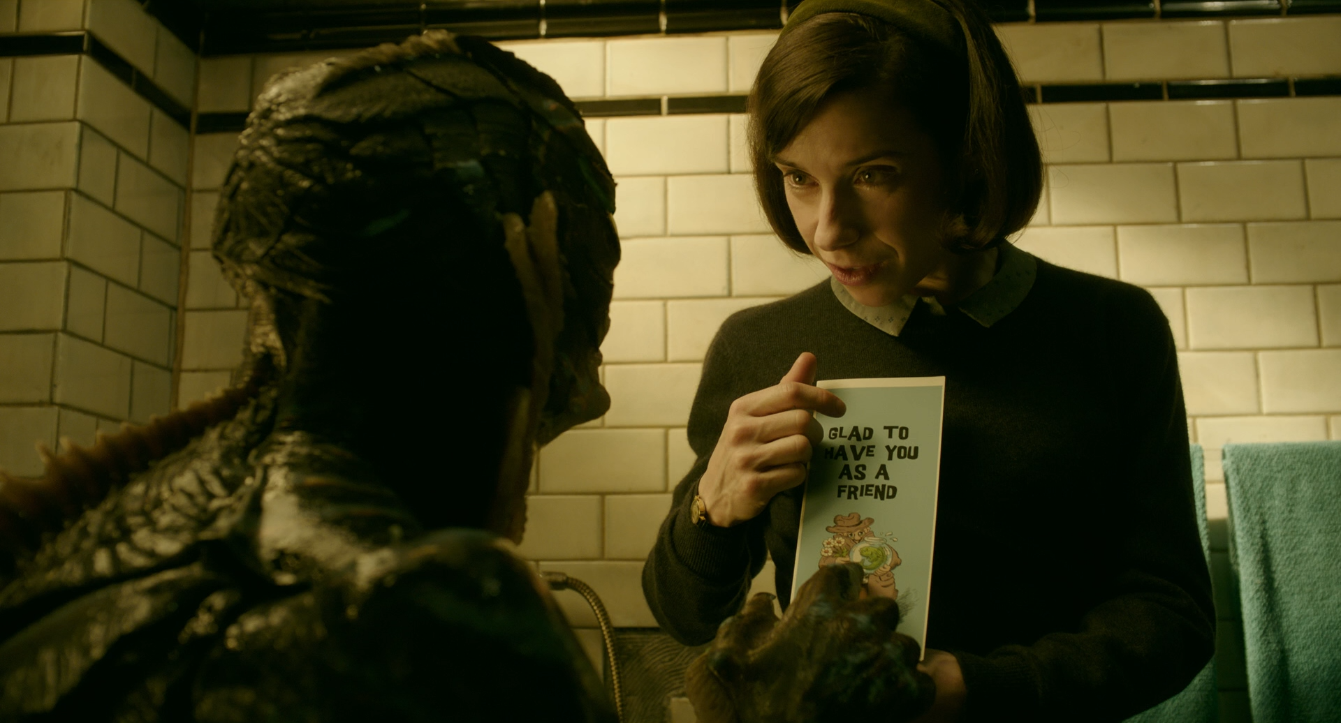 Форма воды / The Shape of Water (2017) BDRip 1080p | iTunes
