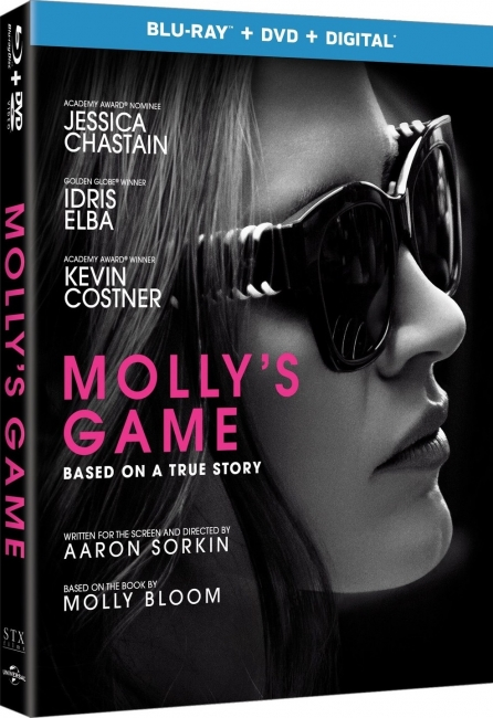 Большая игра / Molly's Game (2017) BDRip-AVC от OlLanDGroup | Лицензия