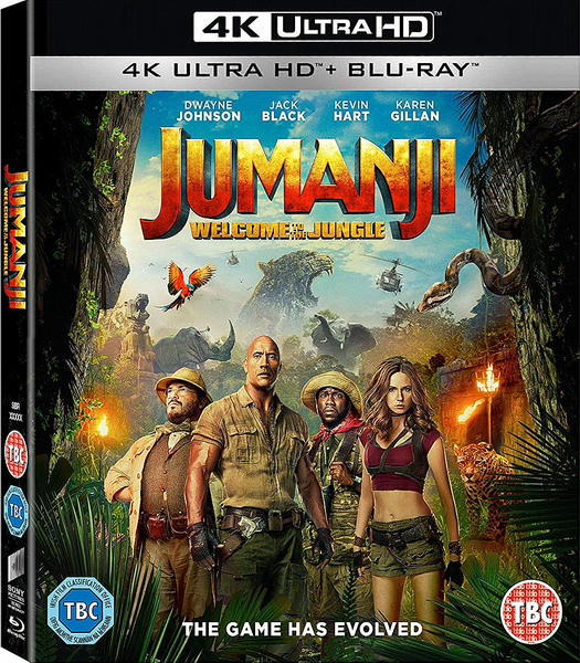 Джуманджи: Зов джунглей / Jumanji: Welcome to the Jungle (2017) BDRip-AVC от OlLanDGroup | Лицензия