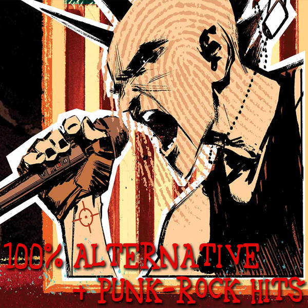 VA - 100% Alternative & Punk-Rock Hits Vol.1 (2018) MP3 скачать торрентом