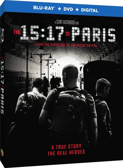 Поезд на Париж / The 15:17 to Paris (2018) BDRip-AVC от OlLanDGroup | Лицензия | 1.95 GB