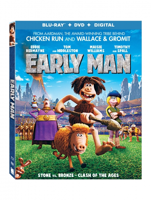 Дикие предки / Early Man (2018) BDRip-AVC | iTunes