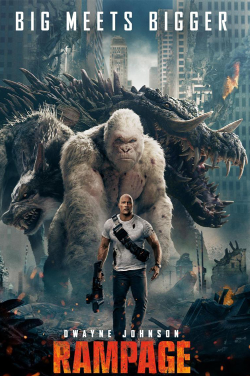 Рэмпейдж / Rampage (2018) WEB-DL 1080p от ExKinoRay | iTunes
