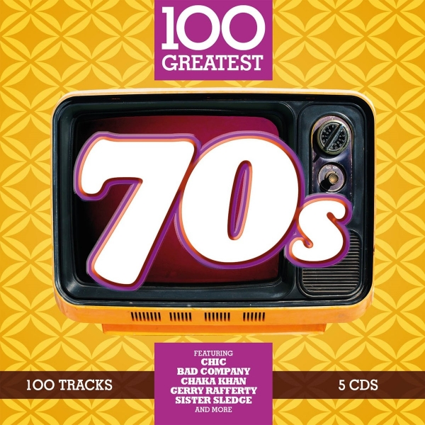 VA - 100 Greatest 70's [5CD] (2017) MP3